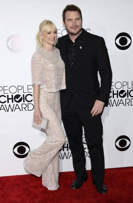 Anna Faris and husband Chris Pratt