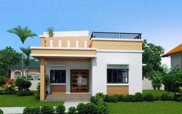 House Porch Design Philippines Modern Bungalow House House Roof Design Small House Design