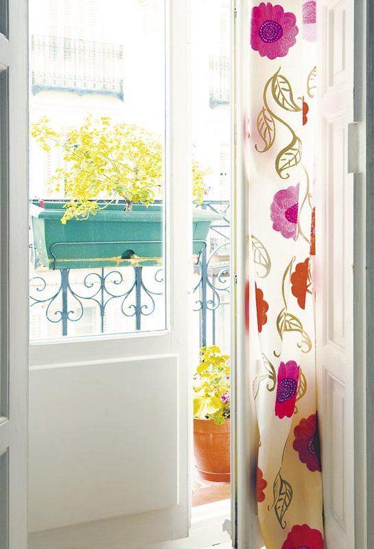 M s de 1000 ideas sobre cortinas de ventanas de puerta en for Puertas que abren hacia afuera