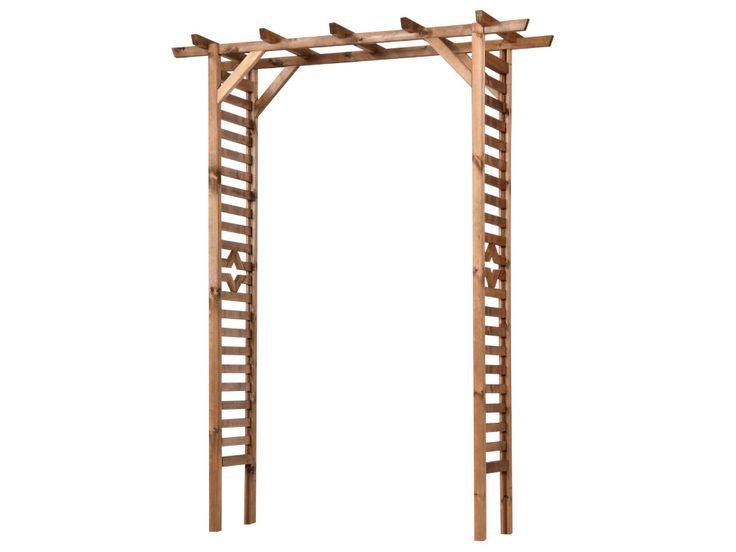 Wyroby z drewna, pergole, płoty drewniane, kratki drewniane, pergole - SOBEX