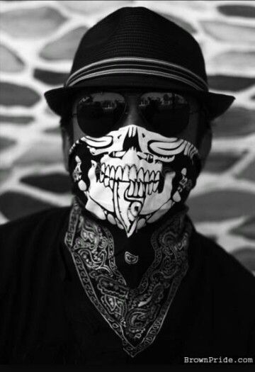 Bandana masked style | Gangsta Style | Pinterest ...