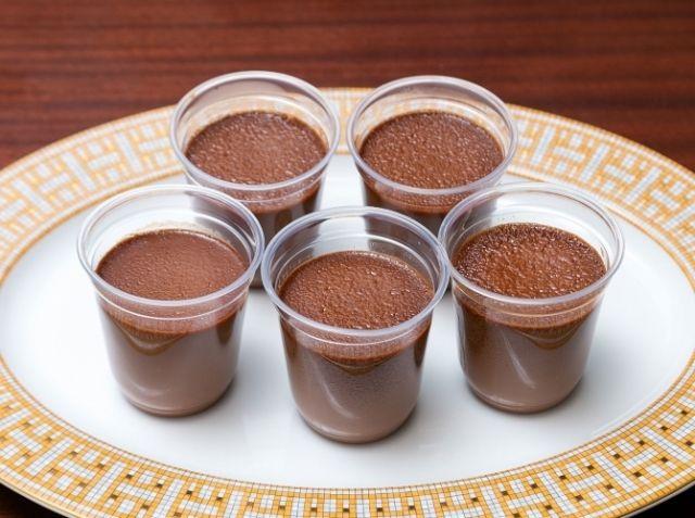 リッチなチョコレートプリン
