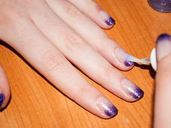 Do Dip Dye Nails - wikiHow