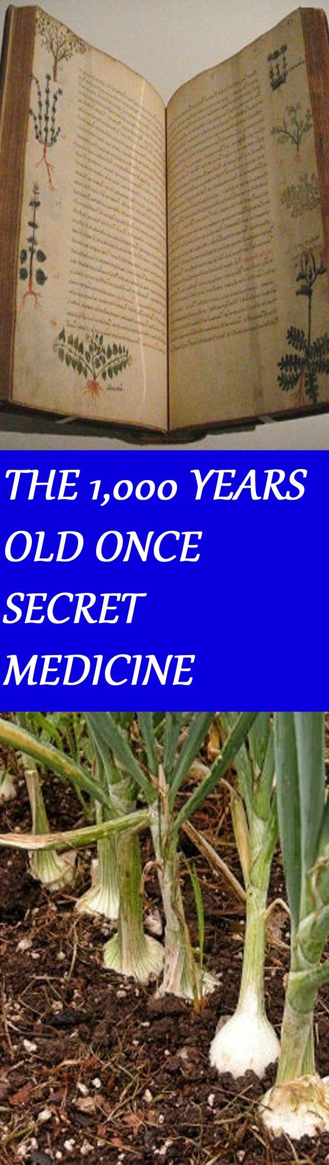 THE 1,000-YEAR-OLD ONCE-SECRET MEDICINE THAT KILLS SUPERBUGS