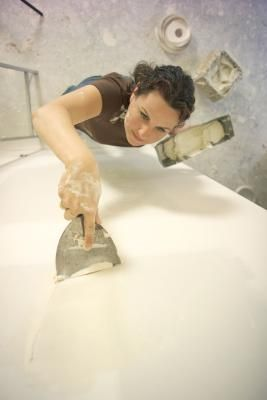 Repair drywall damage caused by wallpaper