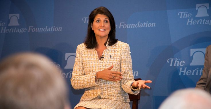 Trump Picks Gov. Nikki Haley for UN Ambassador