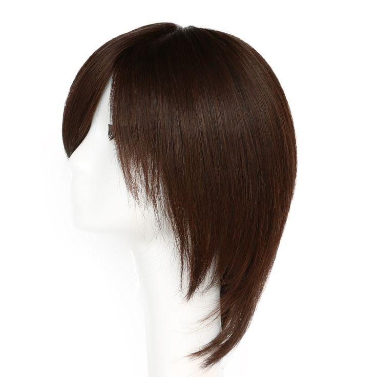 医療用・オシャレ兼用ウィッグ 肌色人工皮膚付き、レディース かつら ウィッグ通販安い 総手植え 高品質人毛100%ウィッグ  激安通販 送料無料