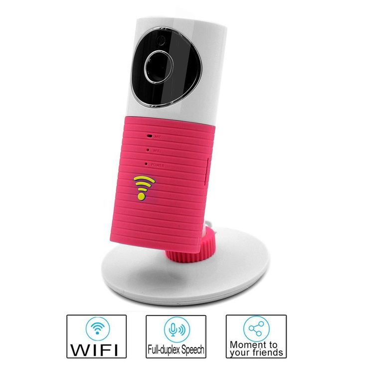 Smart WIFI Camera Besteye Clever Dog Smart Camera with IR Cut Night Vision Max Support 32GB TF Card Wireless Surveillance WIFI Camera or Desk Network Camera-Pink IP camera: Amazon.ca: Camera & Photo
