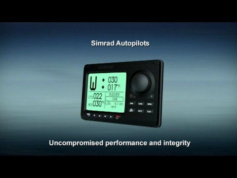 One of the best auto pilots out there. Simrad stuff is just so slick.