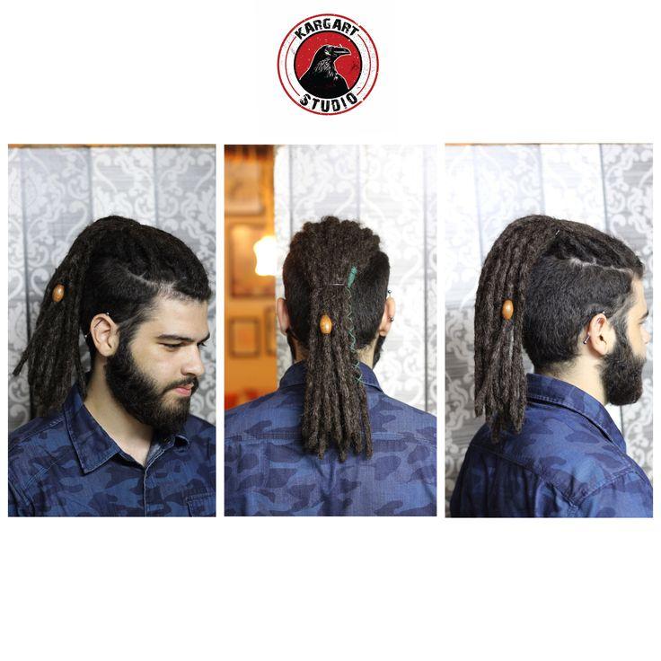 🛠 Dreadlocks / Rasta  • Ek saç ile uzatılarak yapılmıştır. • Bu model için minumum 8 cm saçınız olmalıdır. • Detaylı bilgi için / 0555 899 03 30 • Alsancak / İzmir