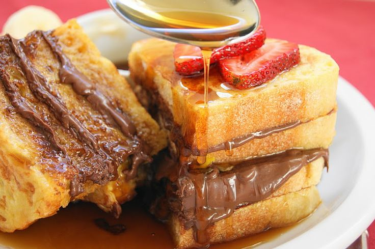 nutella + french toast = perfection