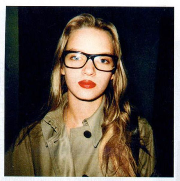 Young and hipster Uma Thurman