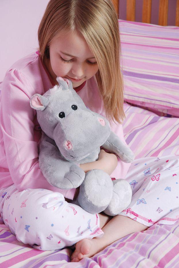 #Termoforek dla dzieci Hippo, Aroma Home. Taki #termofor nie tylko rozgrzeje ale także rozweseli .