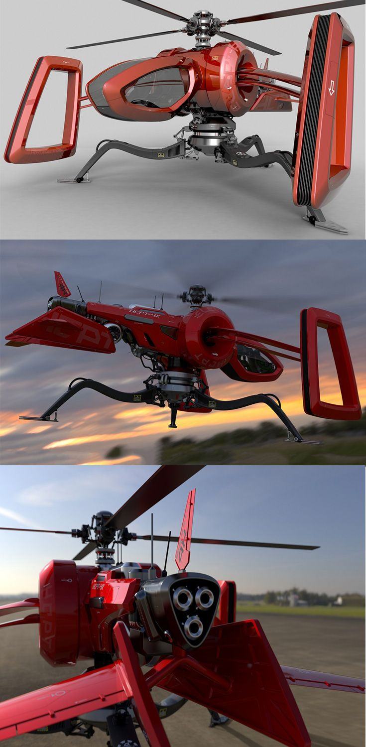 Phiaro's 'Buzz Helicopter' aims at being the worker bee from which it is inspired in the helicopter category, it is versatile and can take on a  variety of scenarios also making it ideal for executing important missions... READ MORE at Yanko Design !