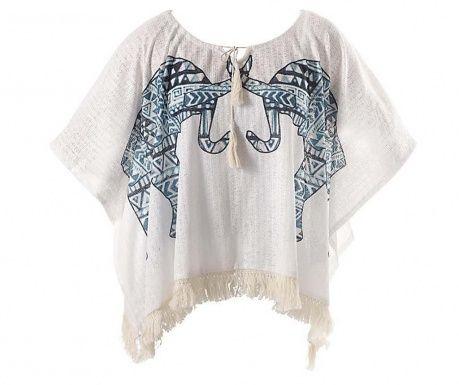 Bluza de plaja Elephants