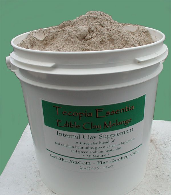 Clay Supplements - Green Sodium Bentonite, Calcium Bentonite - Red Desert Edible Clay