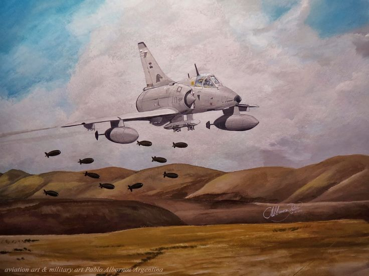 IAI Fighter of the Argentina Air Force