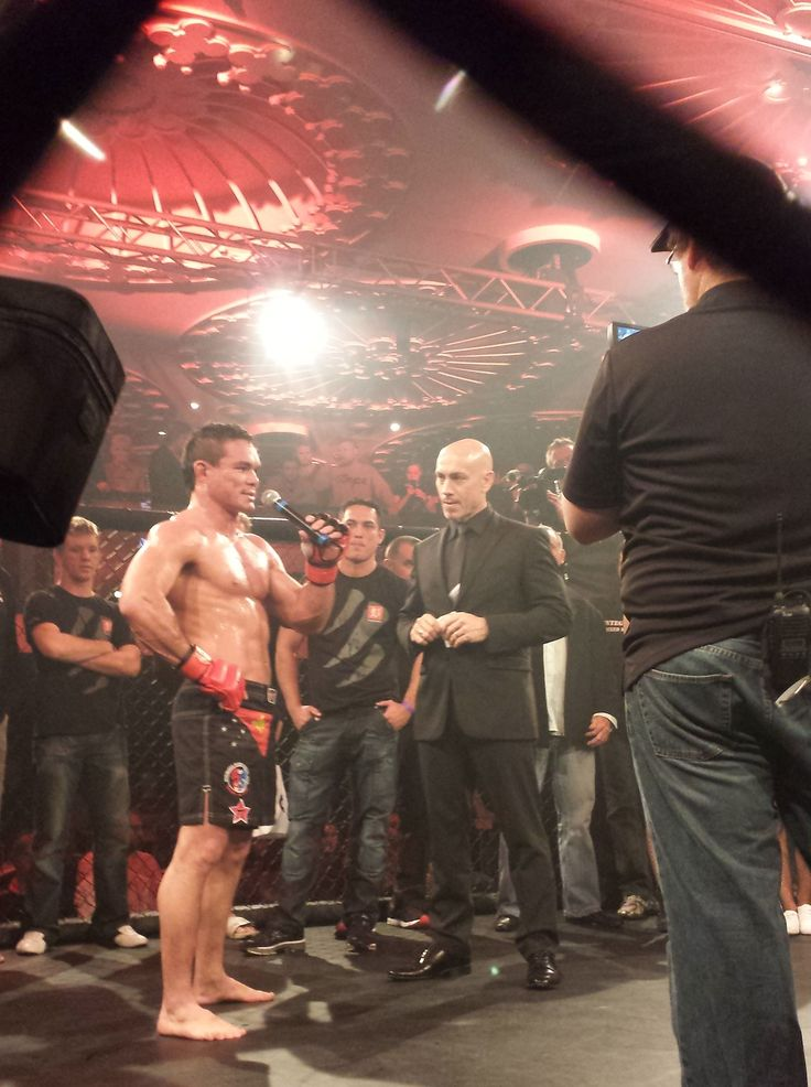 The 'Hunter' returns to the cage. Interviewing Adrian Pang after his triumph over Jai Bradney after a 2 year break.