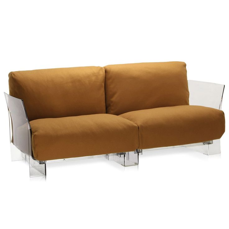 Sofa Slipcovers Pop Two Seater Trevira Sofa by Kartell Opad