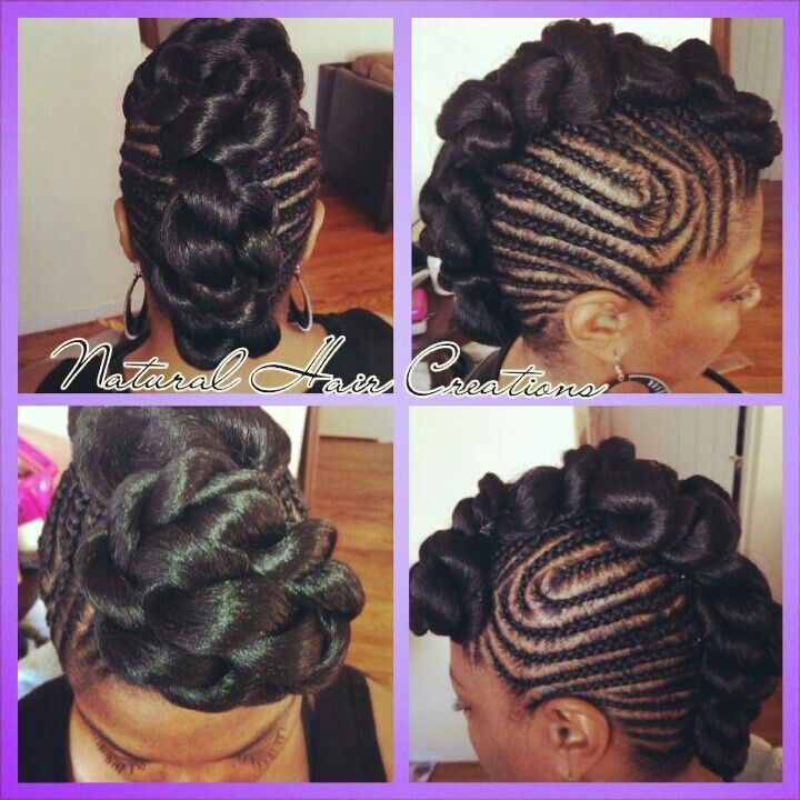 Astonishing 1000 Images About Cornrows On Pinterest Cornrow Natural Updo Hairstyles For Women Draintrainus