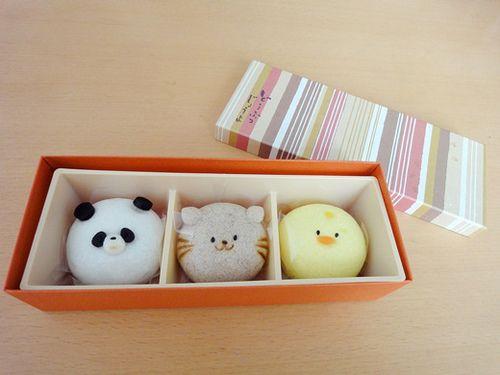 Japanese Sweet Bean Paste Bun!  From http://8tokyo.com