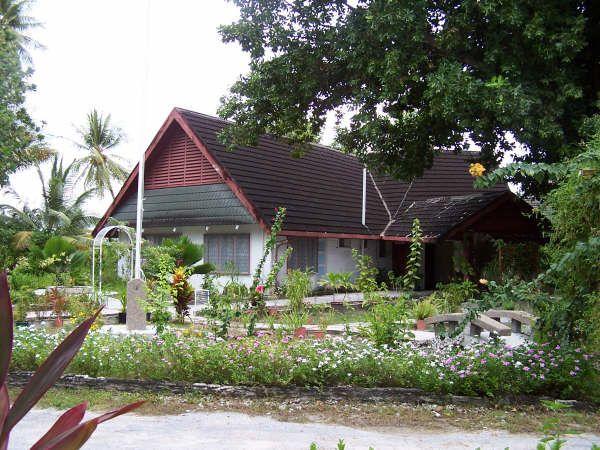 * Presidential Residence * Tarawa, Kiribati.