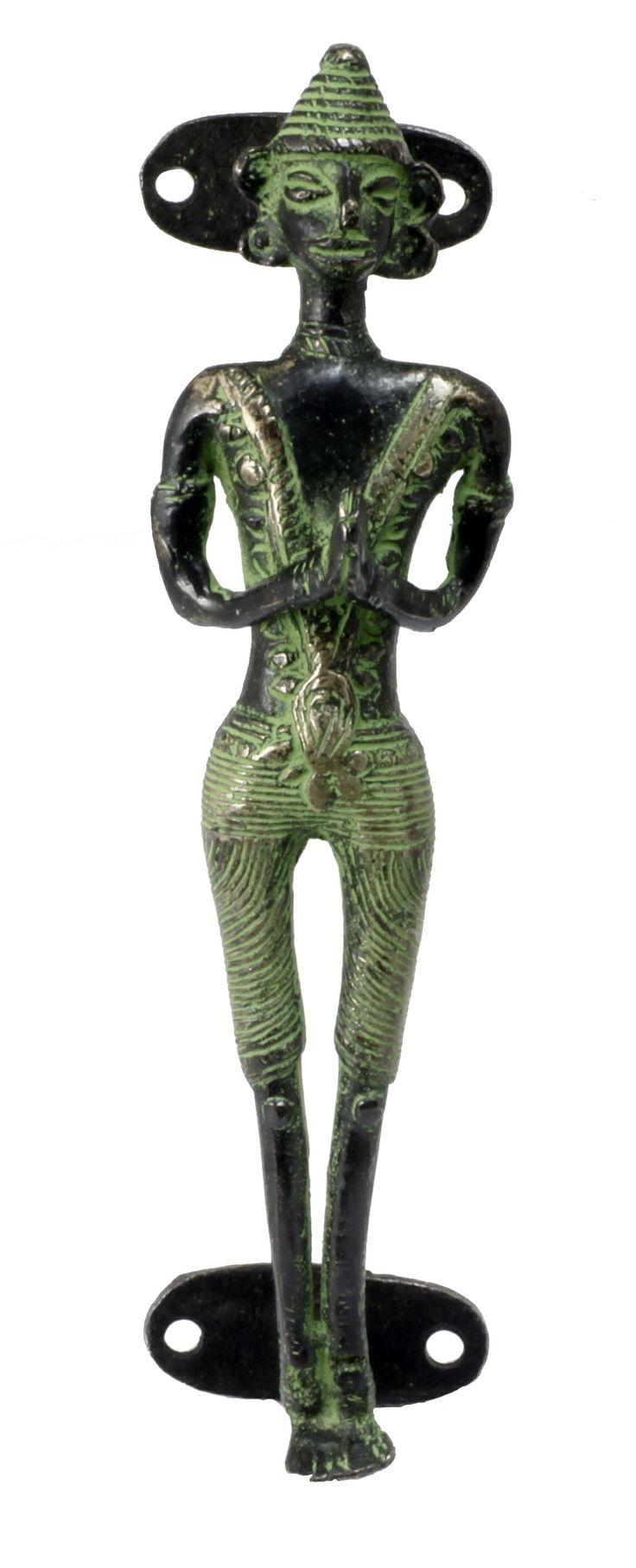 Temple Figurine- Indian Pulls & Knobs #motherofpearl #hardware #MOP #knobs #homdeco #renovation #knockers