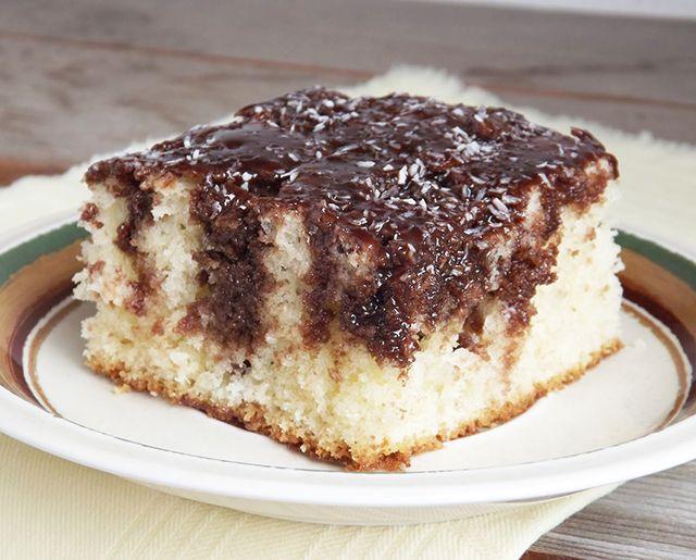 Kókuszos fakanalas sütemény, amiből egy szelet nem elég!