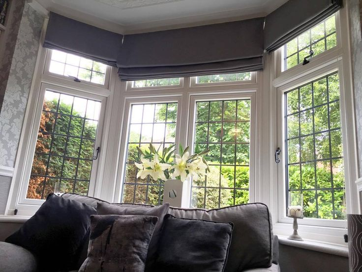 The Window Company installed this R9 White Bay Window