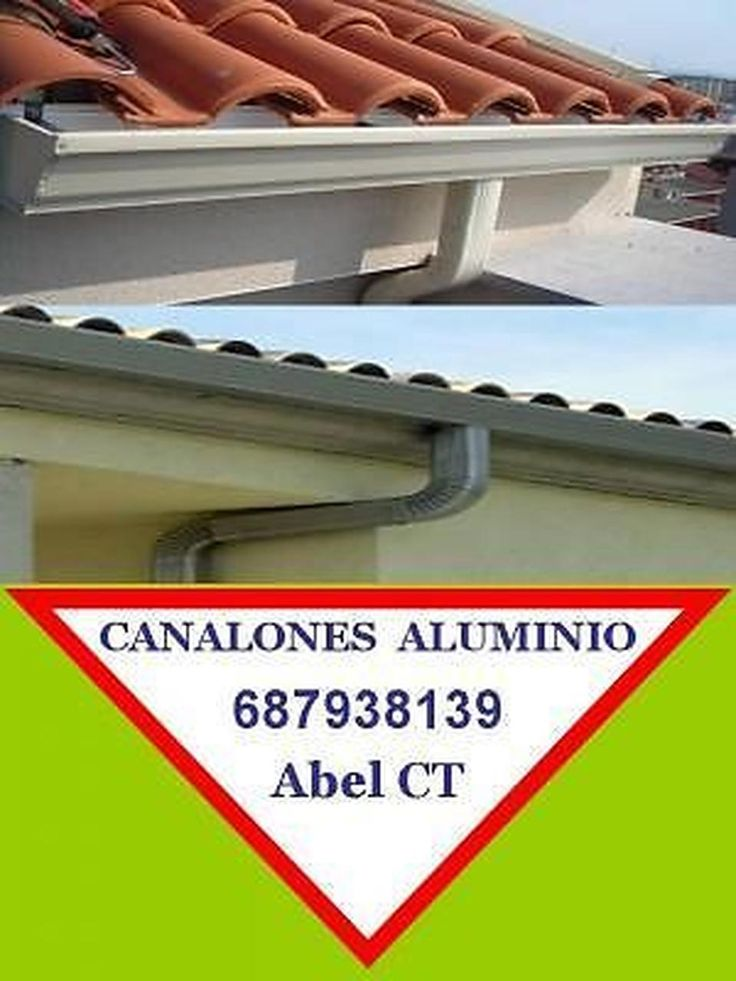 17 best images about canalones aluminio murcia cartagena for Canalones de cobre