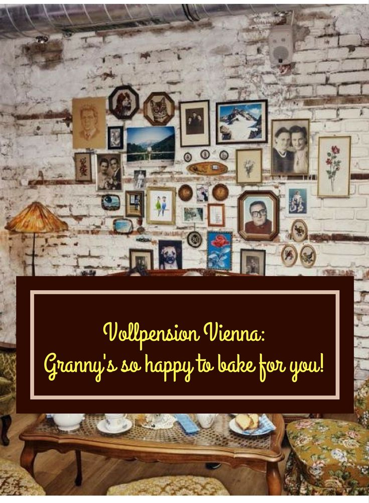There's a cool cafe in Vienna run by elderly ladies, who call themselves grannies, it's decorated like a grandma's house and they bake homemade cakes every day! It's good for breakfast, but you can, also, have lunch and dinner there! Very sweet, very nostalgic and has vegetarian options, too! http://hideinmysuitcase.com/vollpension-vienna-cafe-granny-bakes-best-cakes/