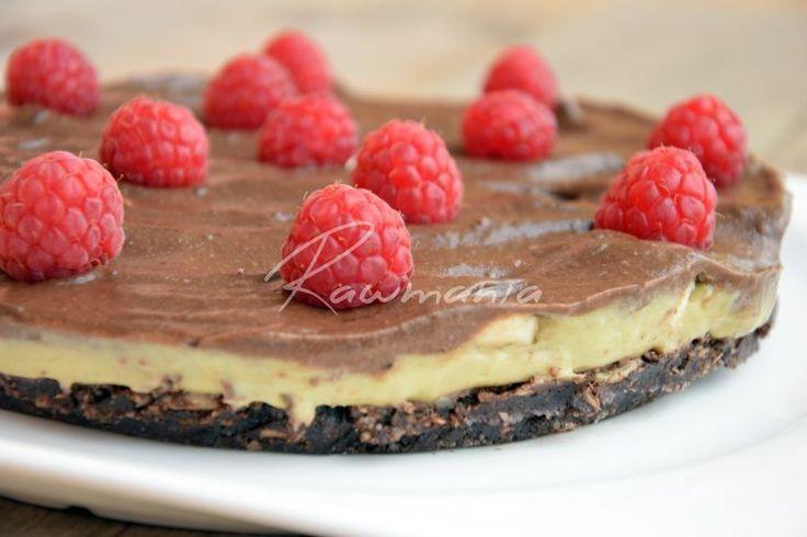 Raw datlový koláč