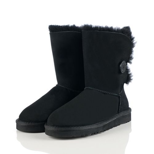 Cheap UGG 5803 Women\u0027s Bailey Button 5803 Black Boots Hot Sale 2013 Black  Friday UGGS