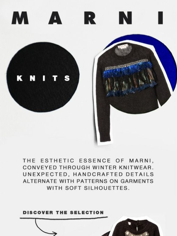 Daily Winter: Introducing Marni Knits - Marni