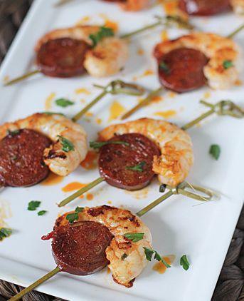 Shrimp and Chorizo Bites