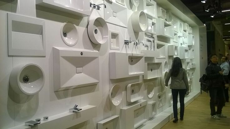 Alape's Wall of Basins #ISH15