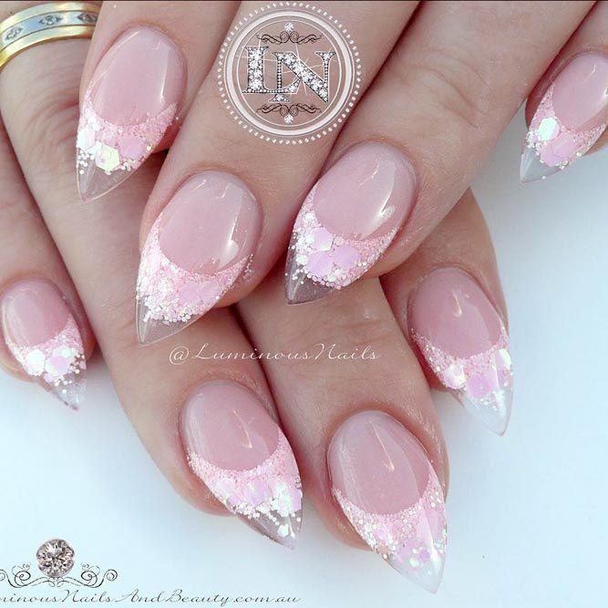 Best 25+ Short stiletto nails ideas on Pinterest   Pointy ...
