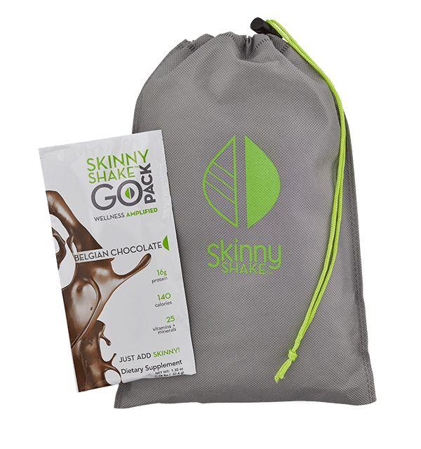 Belgian Chocolate Skinny Shake™ Go Pack Tote