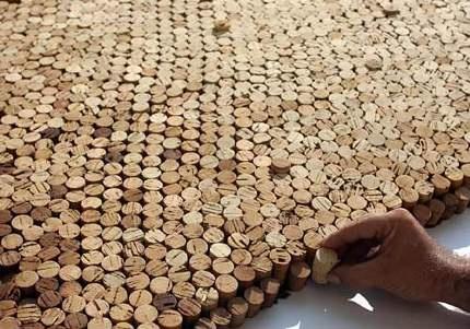 The real cork's carpet :D