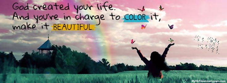 Color Your Life Facebook Covers,
