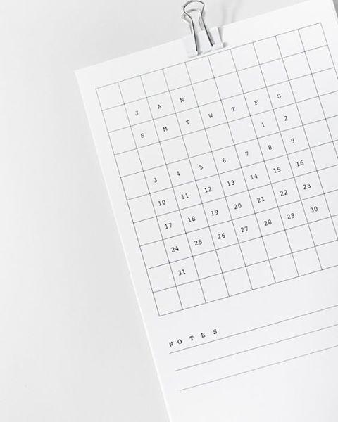 WEBSTA @ mauudhi - Grid Desk Calendar by Lille Mous#calendar #stationary #design #designinspiration #type #typography #print #printdesign #minimaldesign #minimalism #minimal #minimalist #graphicdesign #minimalgraphicdesign #white #whitespace #sans #sansserif #minimaloffice #minimaldesk #office #organised #mauudhi