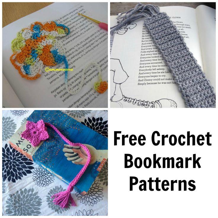 72 besten Crochet bookmarks Bilder auf Pinterest | Lesezeichen ...