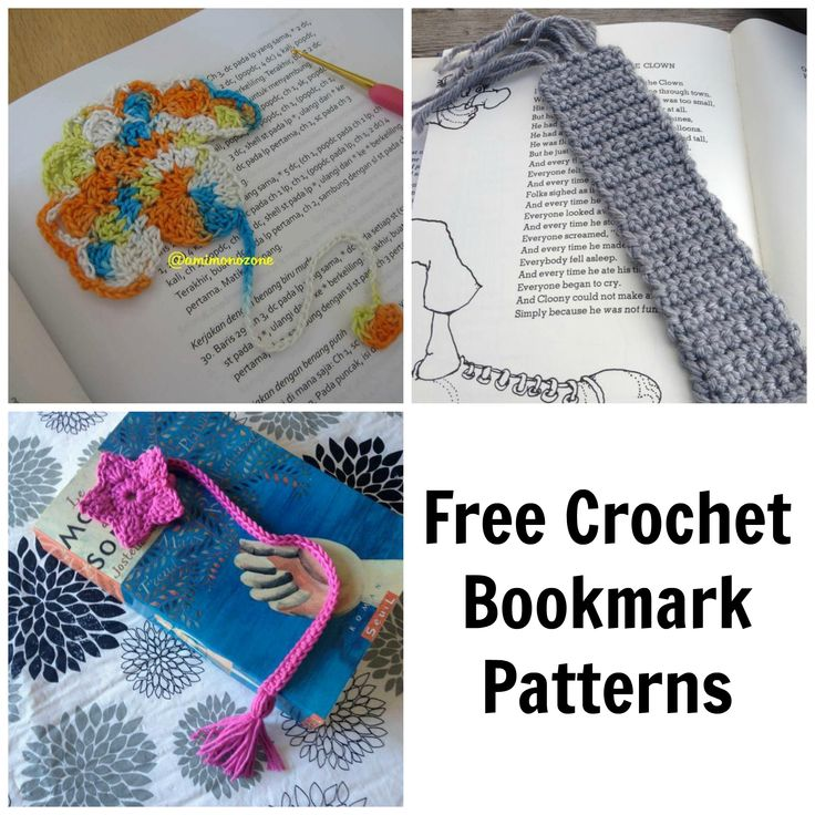 Every crocheter needs a go-to handmade gift — and bookmarks fit the bill! These FREE bookmark patterns use little yarn, work up fast and are a great gift for just about anyone.