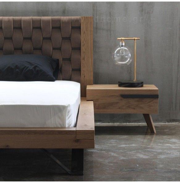 Σετ κρεβατοκάμαρα από ξύλο δρυς
