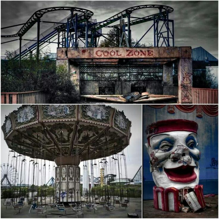 Abandoned Amusement Park...would Love To Check It Out This