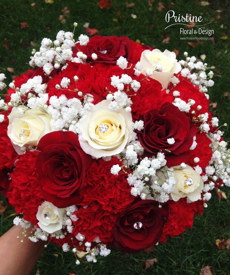 Best Red Wedding Bouquets : Best bridal bouquet red ideas on