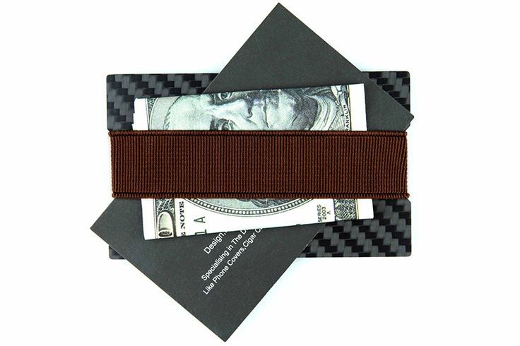 Carbon Fiber Wallet Men Carbon Wallet Greative Purse Real Carbon fiber A Square-Sided Slim Wallet Black 2017 Hot Wholesale