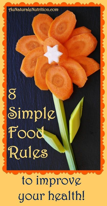 Going Healthy? 8 Rules of Thumb to Eliminate Refined Foods.