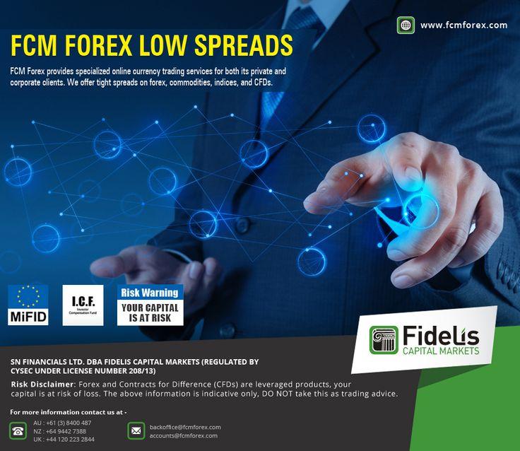 Lowest spread forex broker uk