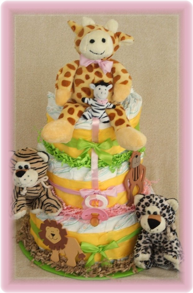 Diaper Cake For Baby Shower Cute Baby Stuff I Want
